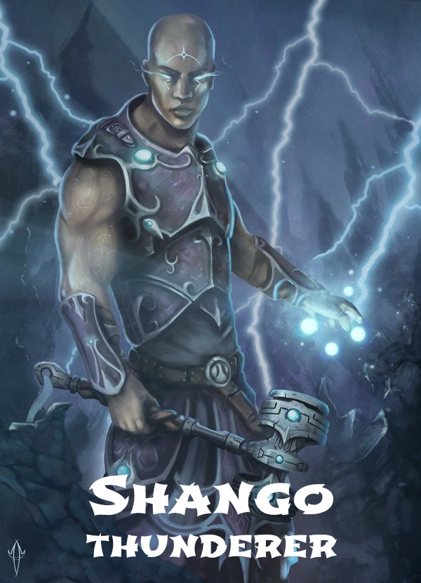 Electric Warrior - Shango2