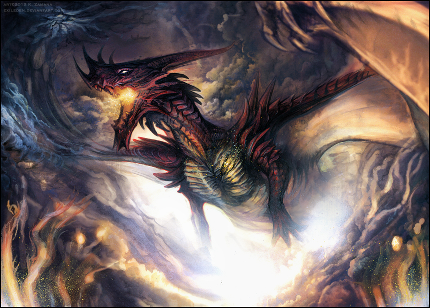 smaug__s_wrath_by_exileden-d5hzlxs