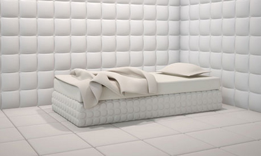 padded cell wallpaper