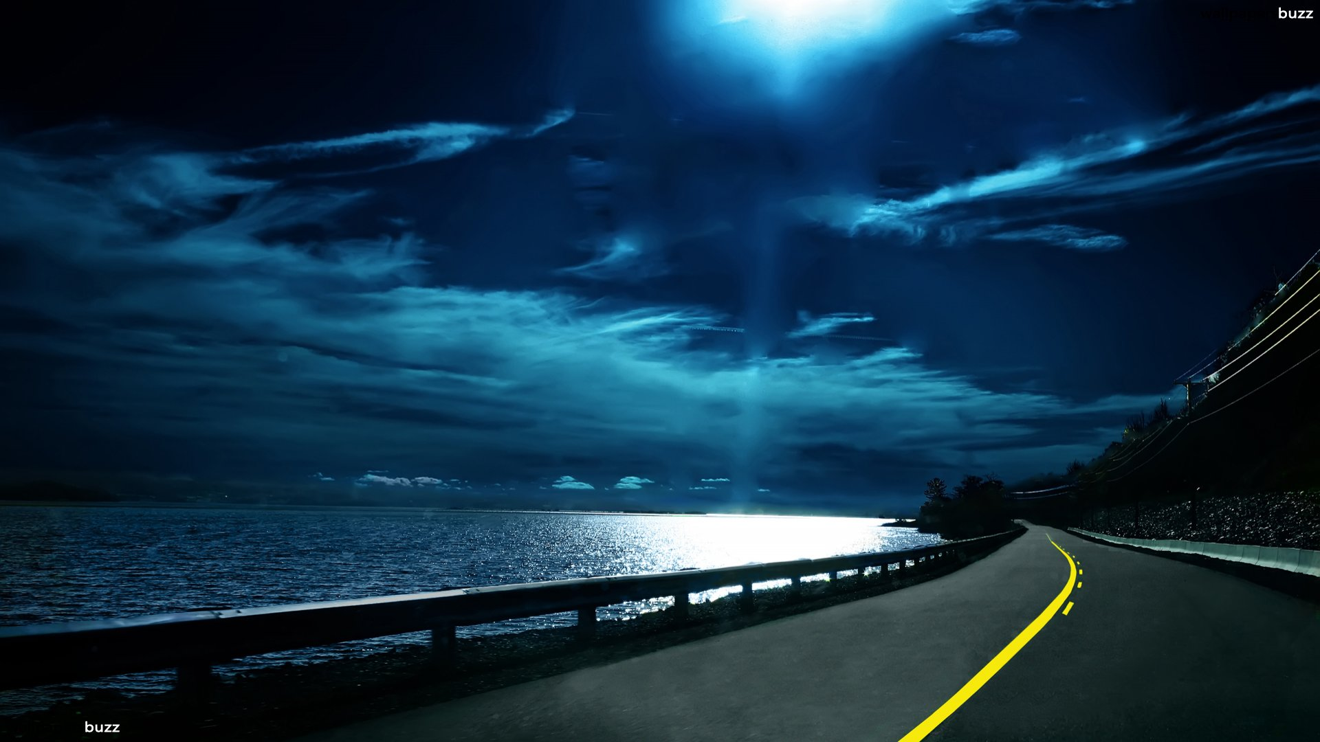 1920x1080-a-road-at-night