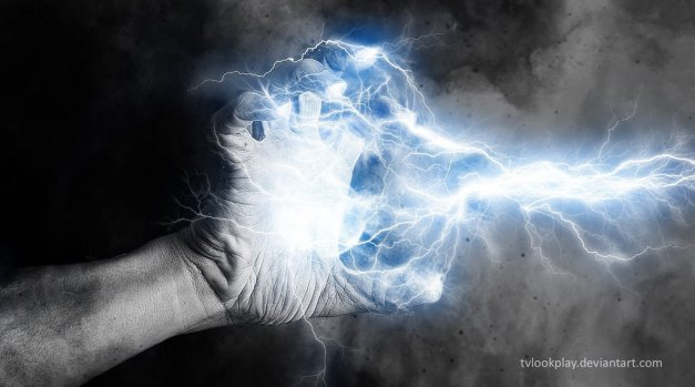 hand_element__channel_lightning_by_tvlookplay-d5qznov
