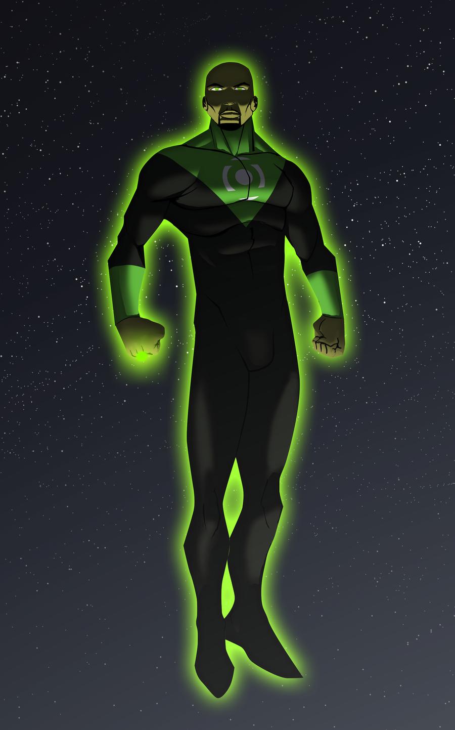 Green_Lantern__John_Stewart_by_xJoeDx