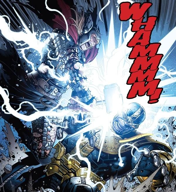 Infinity 006 thor versus thanos